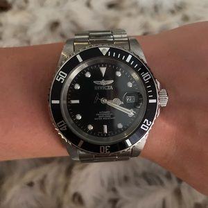 Invicta Silver Watch